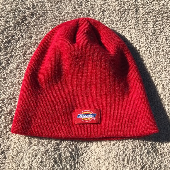 Dickies Other - Dickies Red Beanie f4c23e1ff1e8